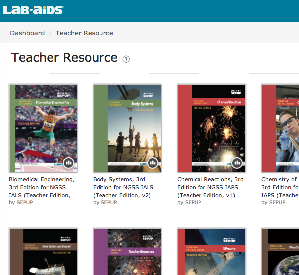 teacher resources library
